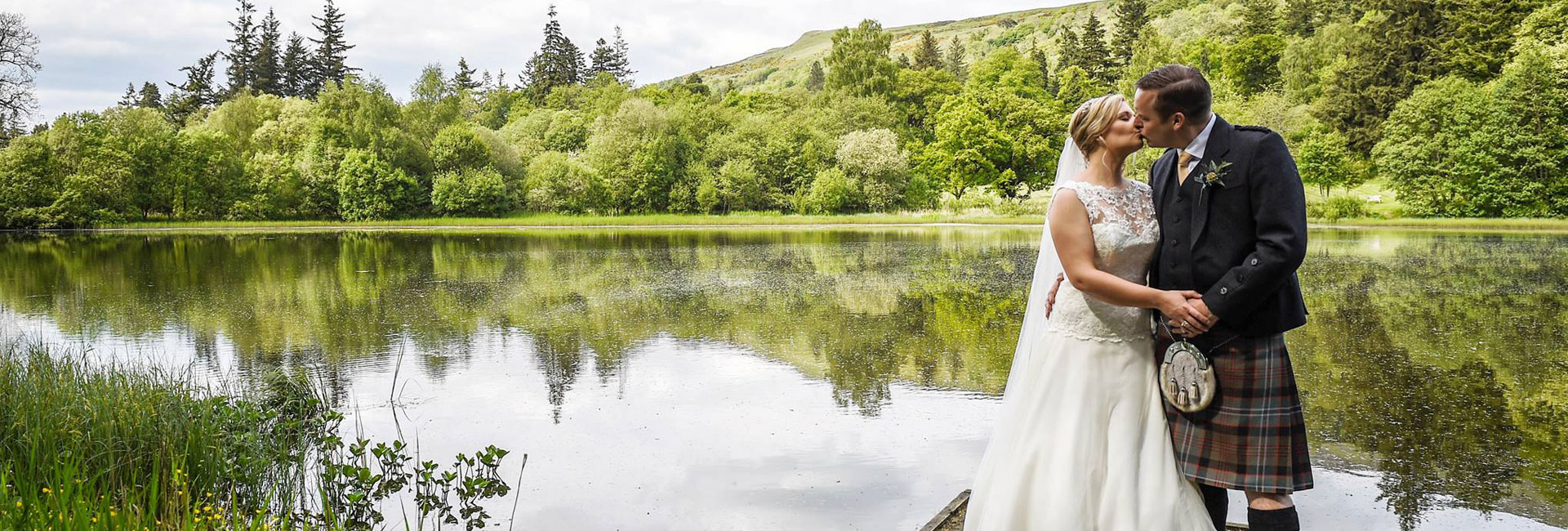 Culcreuch Castle Wedding