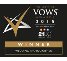 VOWS Awards Winner - Wedding Photographer